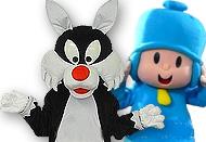 Personajes infantiles para fiestas de niños