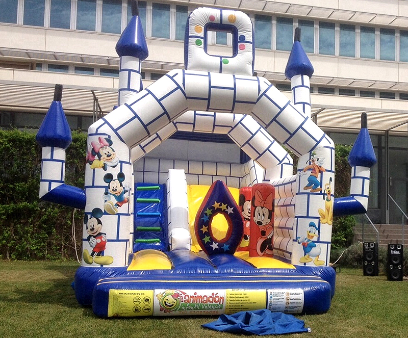 Castillo Hinchable Mickey