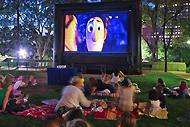 Valencia cine de verano al aire libre.