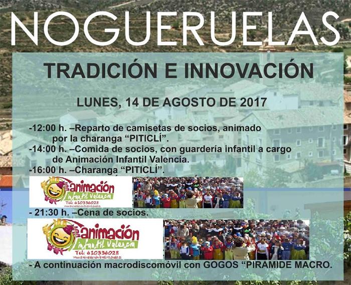14 Agosto Fiestas Patronales Nogueruelas 2017